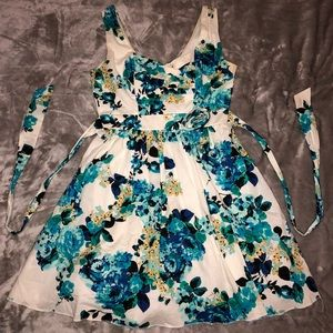Ruby Rox Juniors Floral Cocktail Dress